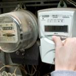 eléctrico incluye un interruptor eléctrico — Foto de Stock