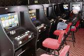Room with slot machines — Stock Photo