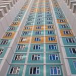Many storied apartment house — Stock Photo