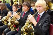 Children's Brass Band — Stock Photo