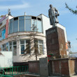 Stock Photo: Monument to Lenin