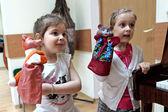 Children in kindergarten — Stock Photo