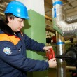Stok fotoğraf: Mworking on water utility