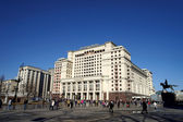Hotel Moskva in Moscow — Stock Photo