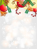 Christmas shiny background — Stock Vector