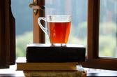 šálek čaje. — Stock fotografie