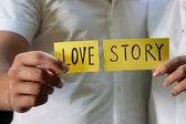 Love story. — Stock Photo