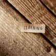 Foto de Stock  : Learning.