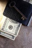 Money key — Stock Photo