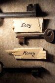 Easy money concept — Stock Photo