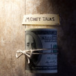 Money talks — Stock Photo