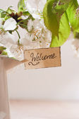 Welcome — 图库照片
