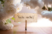 You're Invited — Stock Photo