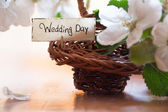 день свадьбы — Стоковое фото