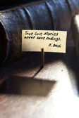 真の愛の物語は決してある終末 — ストック写真