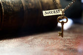 Key to success — Stock fotografie