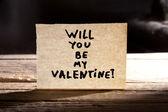 あなたは私のバレンタインになります — ストック写真