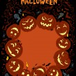 Happy Halloween Poster — Stock Vector #12899707