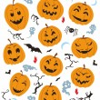 Stock Vector: Halloween Characters Set