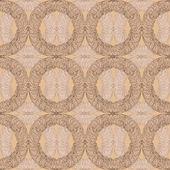 Patrones decorativos sin fisuras en tono marrón — Vector de stock