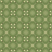 Seamless pattern with arrows and symbols — Stock Vector