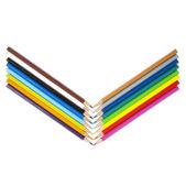 Potloden in een vorm van een V — Stock Photo