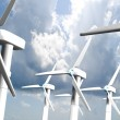 Wind mills, renewable energy. — Stock Photo #10010928