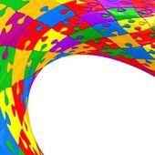 Quebra-cabeça esférica — Fotografia Stock