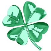 Fourleaf clover — Stock Photo