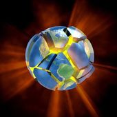 Earth explode. — Stock Photo