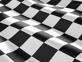 Checkered flag texture. — Stock Photo