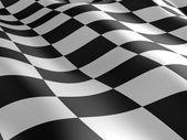Checkered flag texture. — Foto Stock