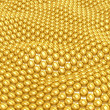3D Golden background — Stock Photo #45326233