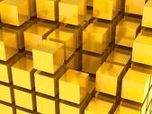 3D tiles background — Stock Photo