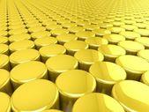 3D Golden background — Stock Photo