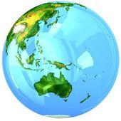 Glass globe. — Stock Photo