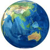 Szkło globe. — Zdjęcie stockowe