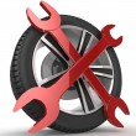 Wheel and Tools — Stock Photo #45357415