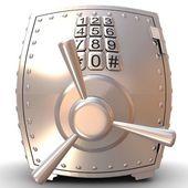 Security metal safe — Stock Photo