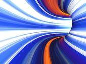 Streszczenie pasiasty 3d obraz — Zdjęcie stockowe