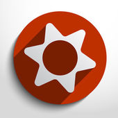 Vector icon gears background. — Foto de Stock