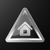 Vector home icon background — Stock Vector