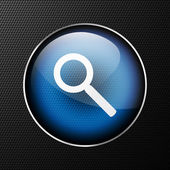 Vector search icon background. — Stock Vector