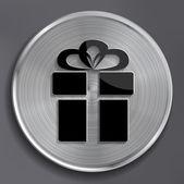 Vector gift web icon — Stock Vector
