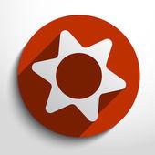Vector icon gears background. — Stock Vector