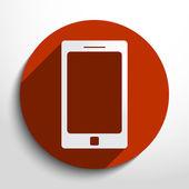 Vector smart phone icon — Stock Vector