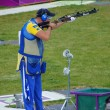 Hankan Dahley Team Sweden winning Silver — Stock Photo