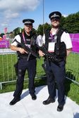 Armed Police Officers — Stock Photo