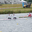 Stock Photo: Men's canoe doubles Winners Germany Gold & Russia Bronze