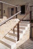 Outside stone steps — Stock Photo
